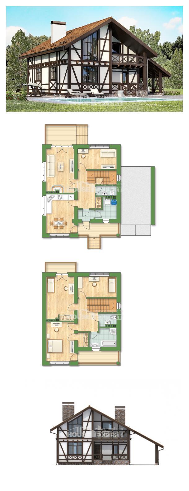 Проект дома 155-002-П | House Expert