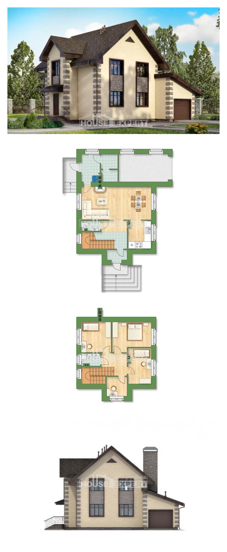 Проект дома 160-004-П | House Expert
