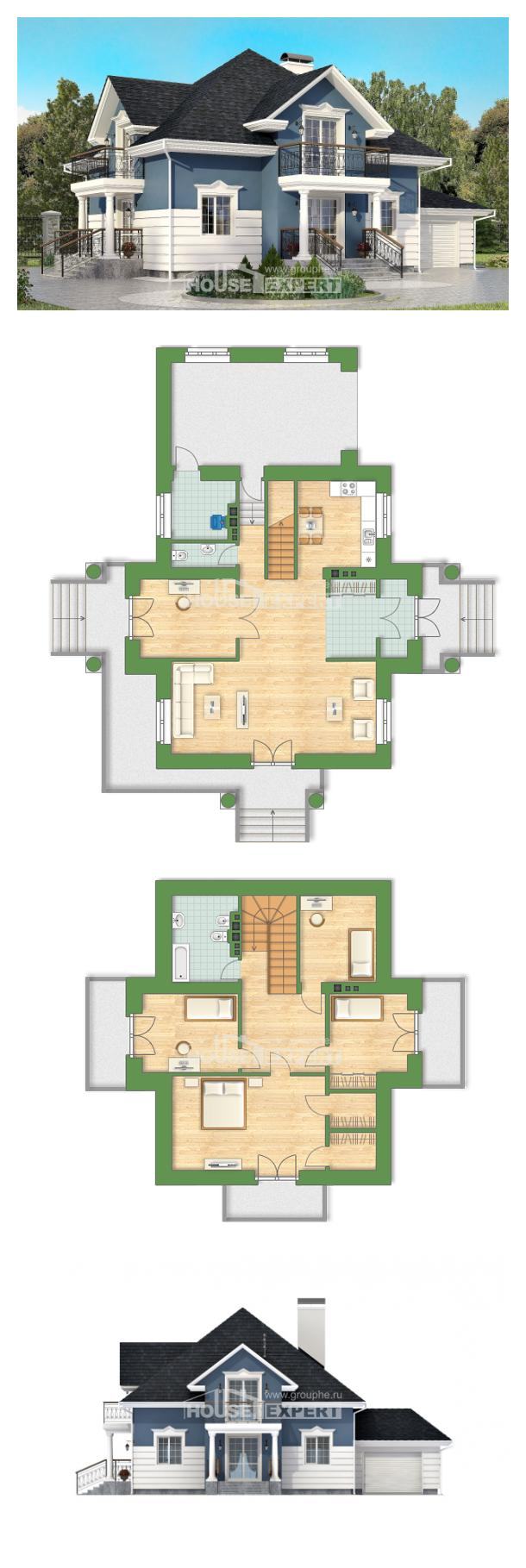Проект дома 180-002-П   House Expert