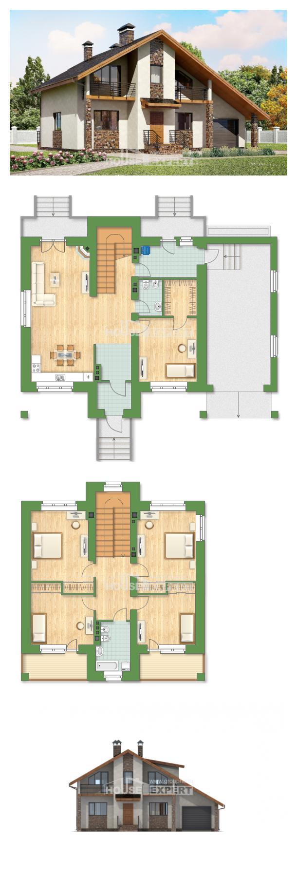 Проект дома 180-008-П   House Expert