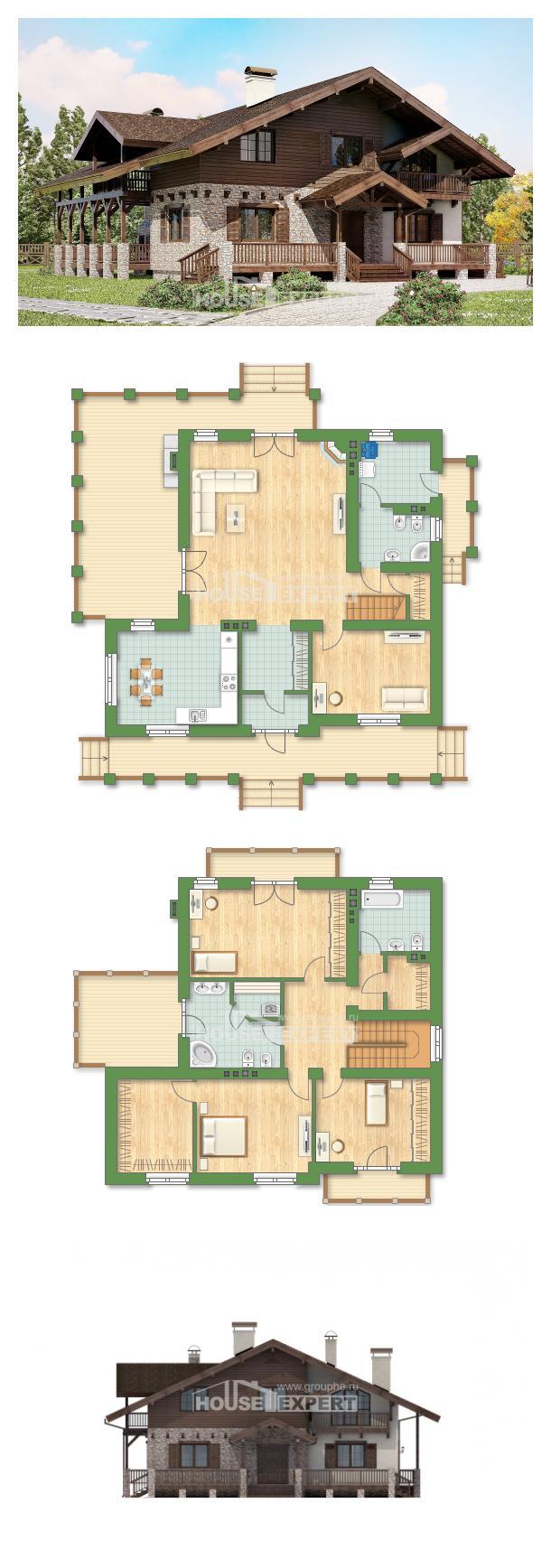 Проект дома 250-003-П | House Expert