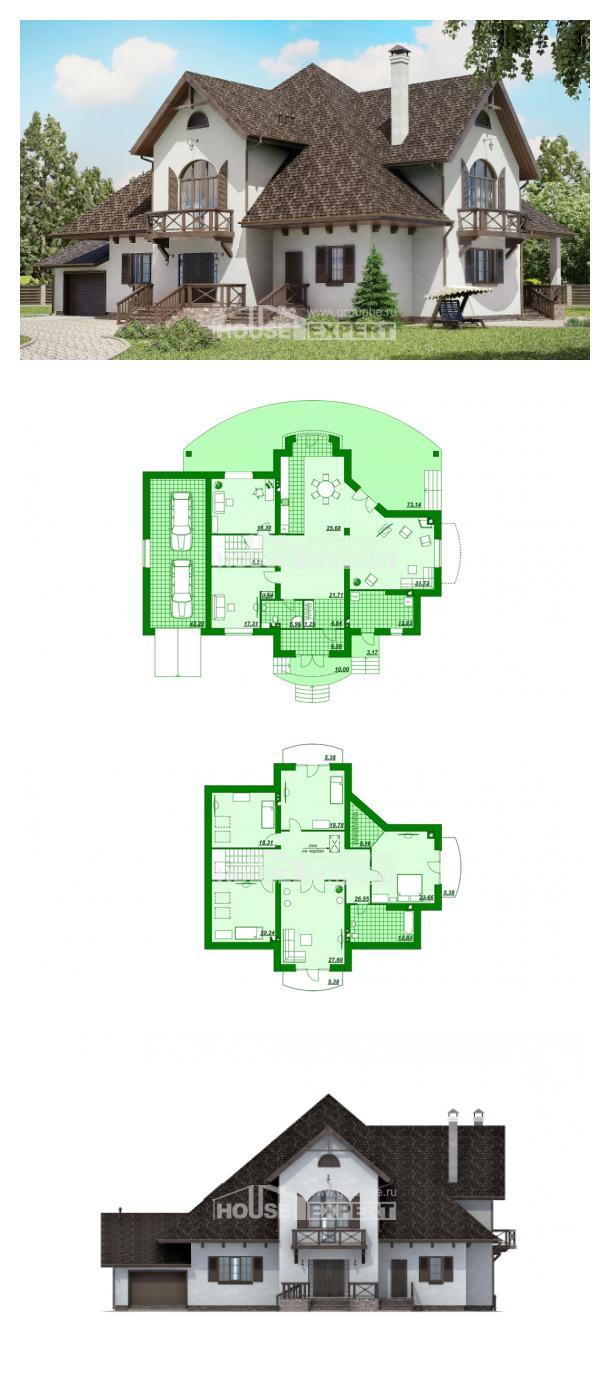 Проект дома 350-001-Л   House Expert