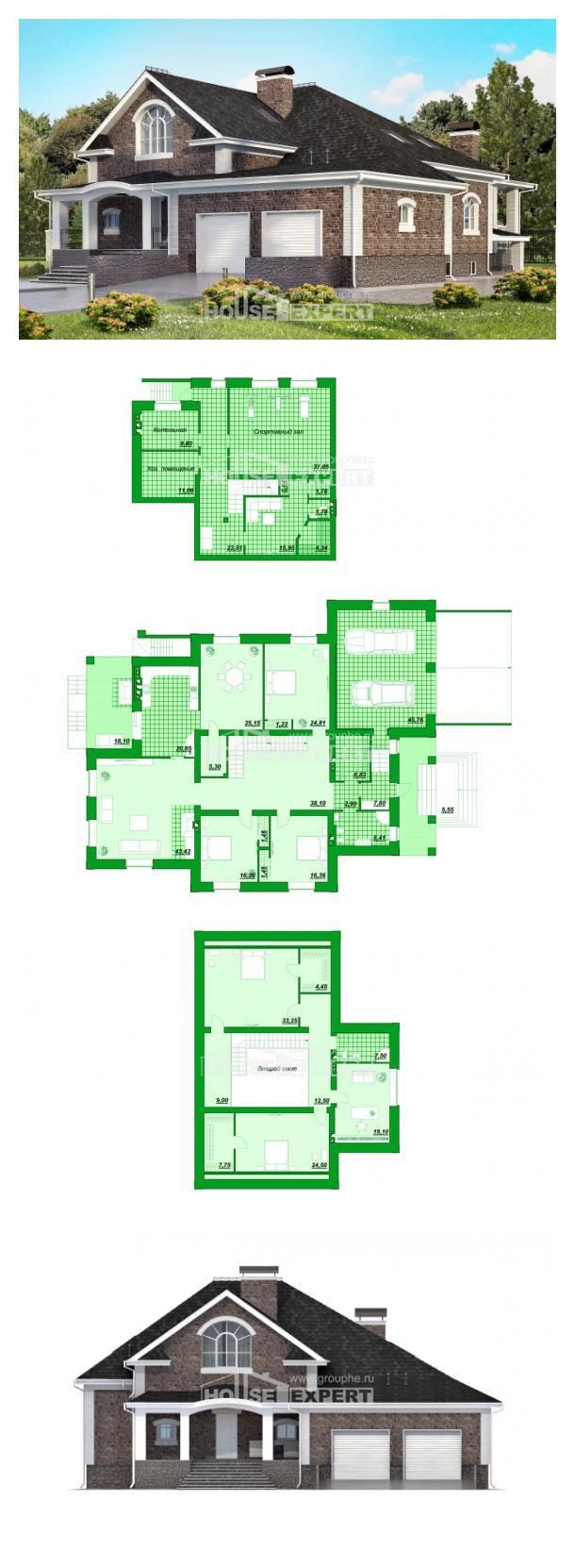 Проект дома 490-001-П | House Expert
