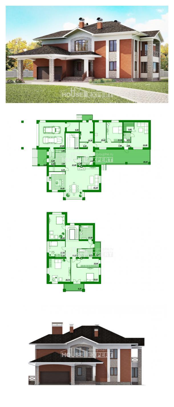 Проект дома 400-002-Л   House Expert