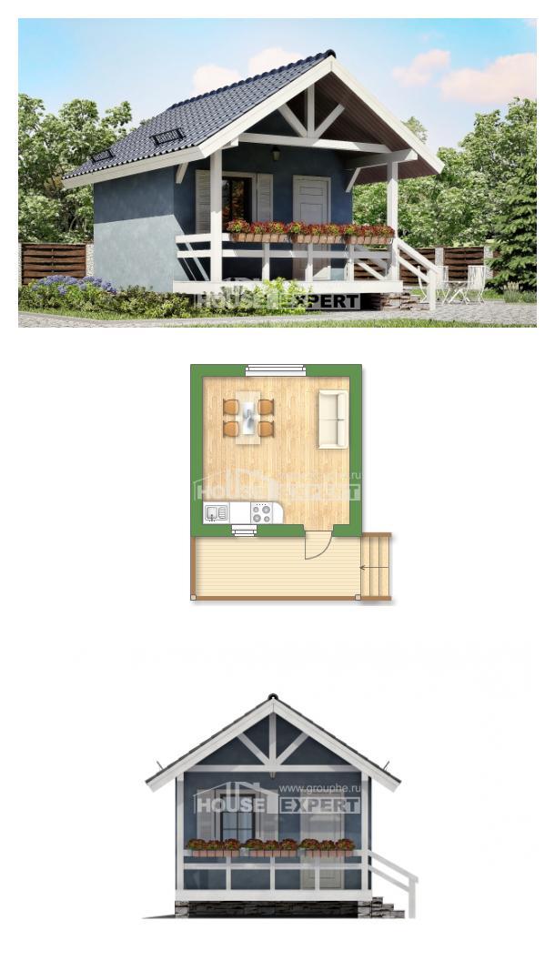 Проект дома 020-001-П   House Expert