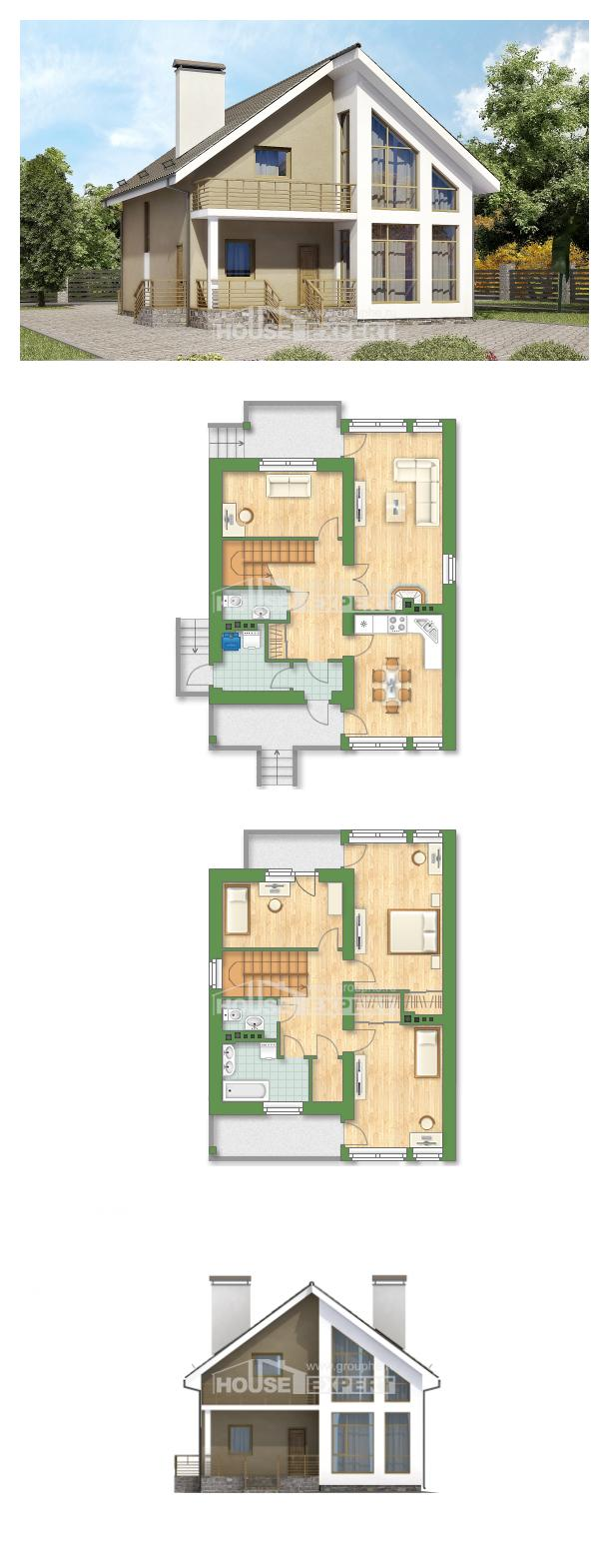Проект дома 170-006-Л | House Expert