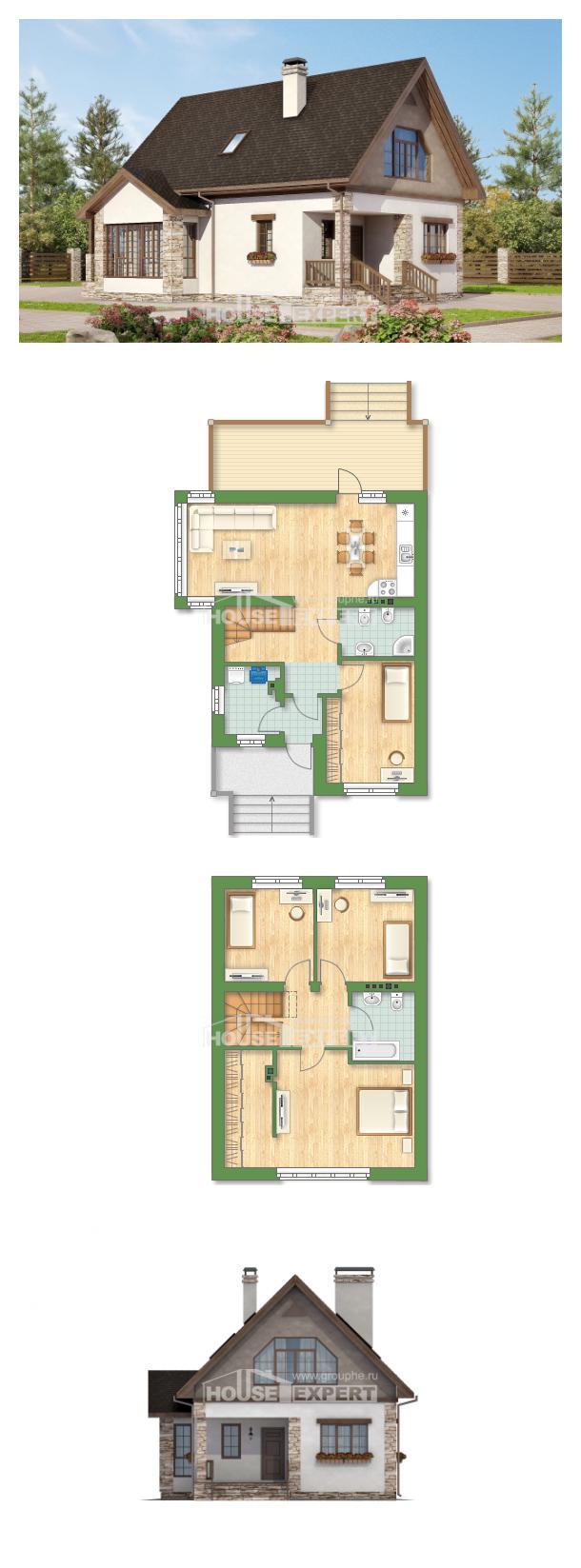 Проект дома 140-002-Л   House Expert