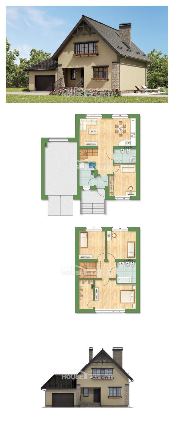 Проект дома 160-005-Л   House Expert