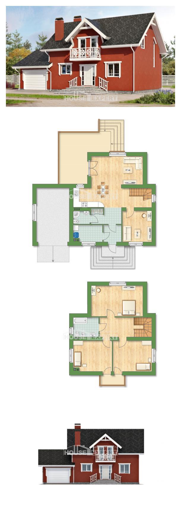 Проект дома 180-013-Л | House Expert