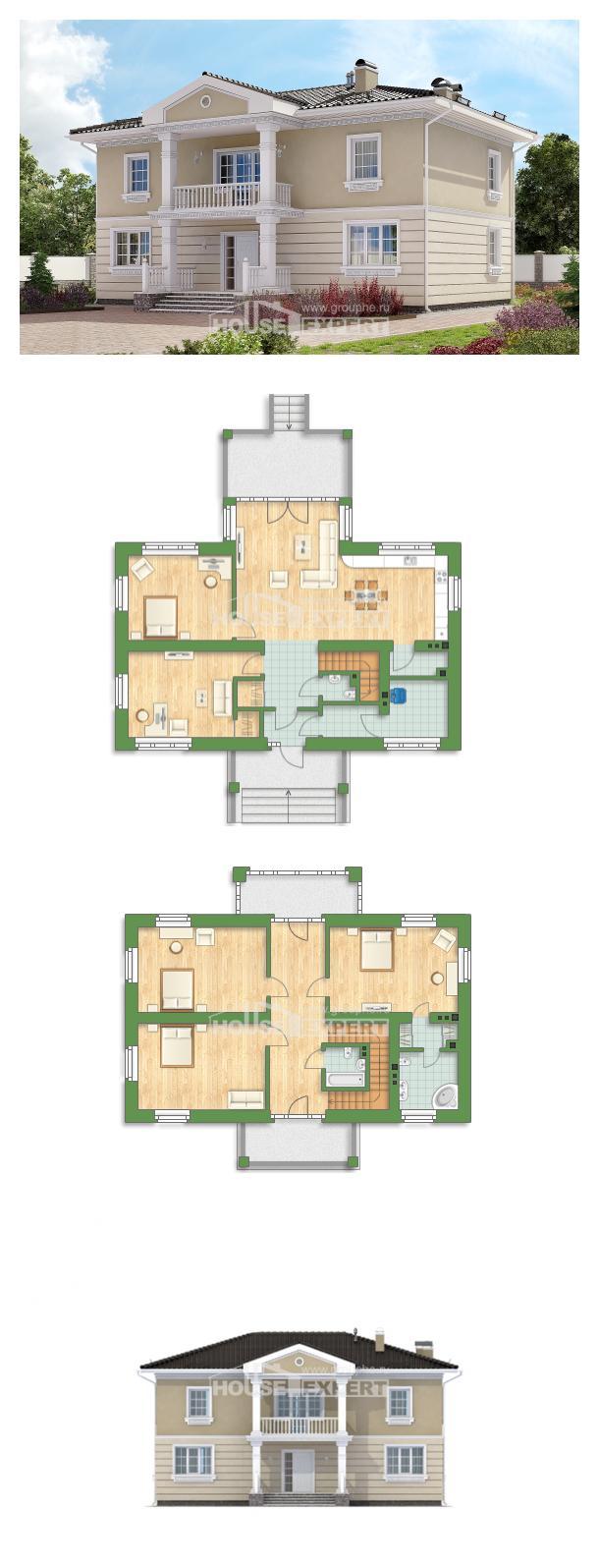 Проект дома 210-005-Л   House Expert