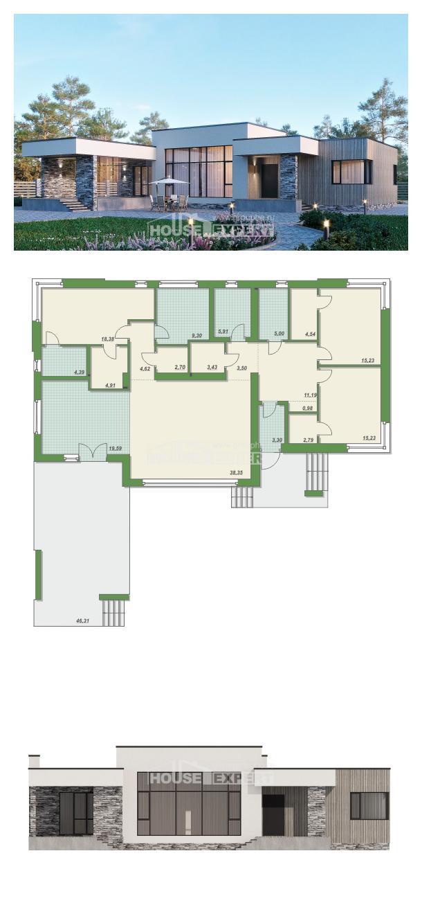 Проект дома 175-001-Л   House Expert