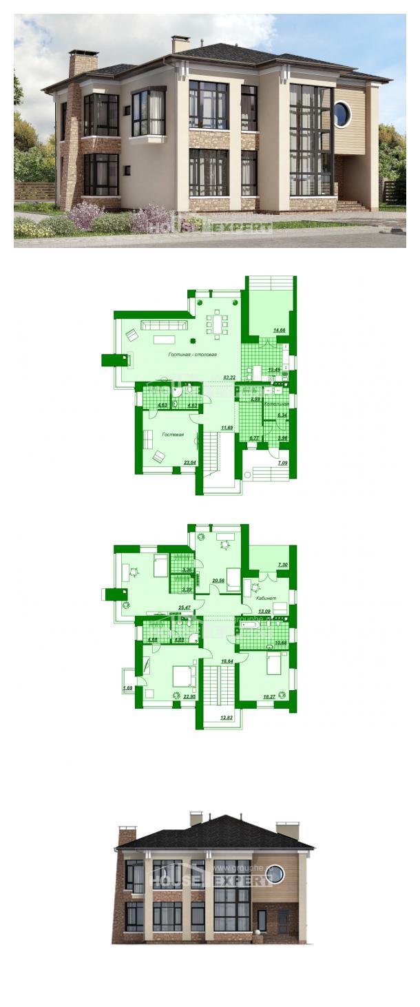 Проект дома 300-005-Л | House Expert
