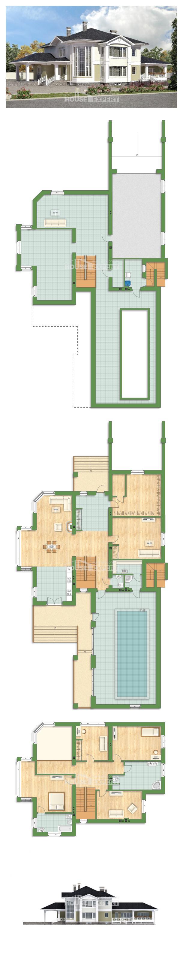 Проект дома 620-001-Л   House Expert